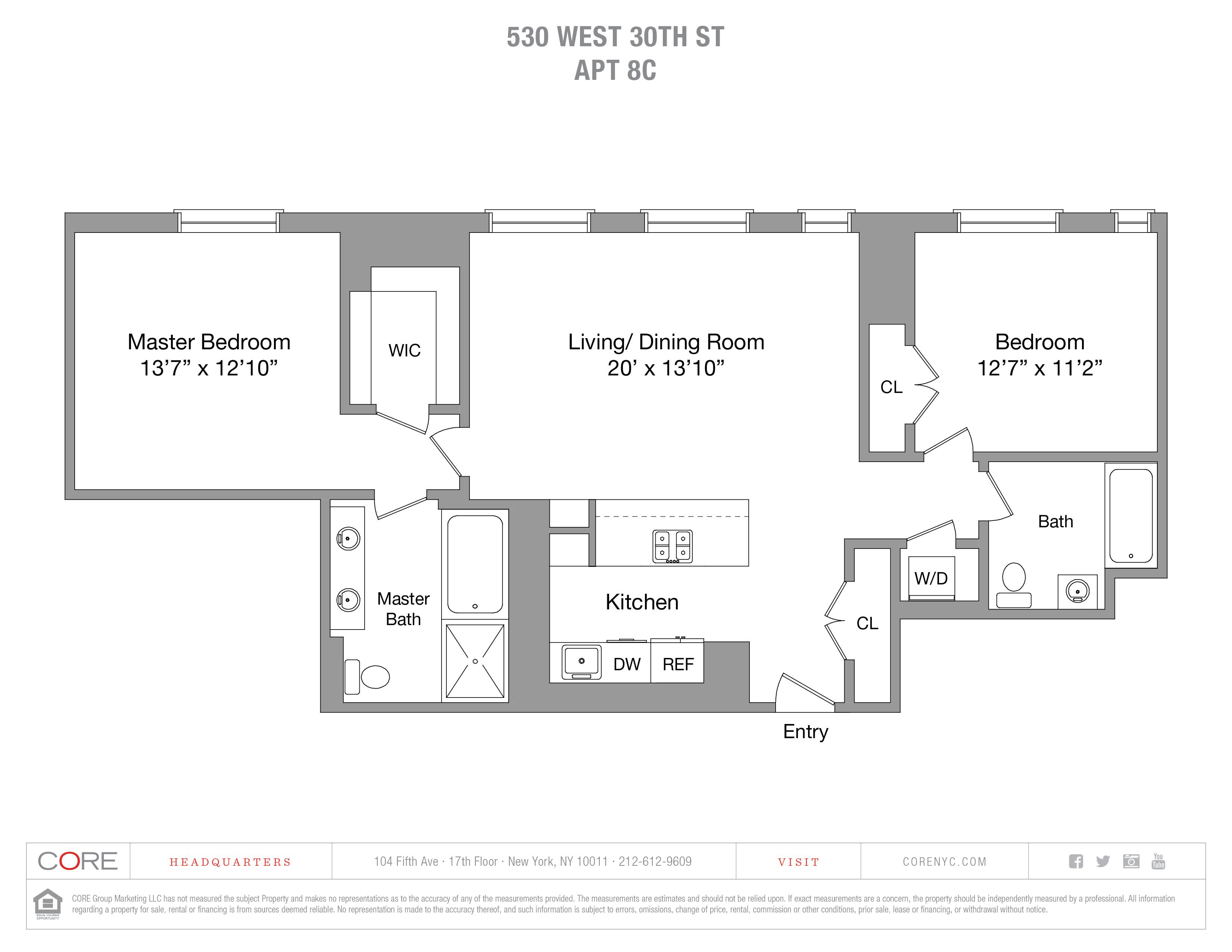 530 West 30th St. 8C, New York, NY 10001