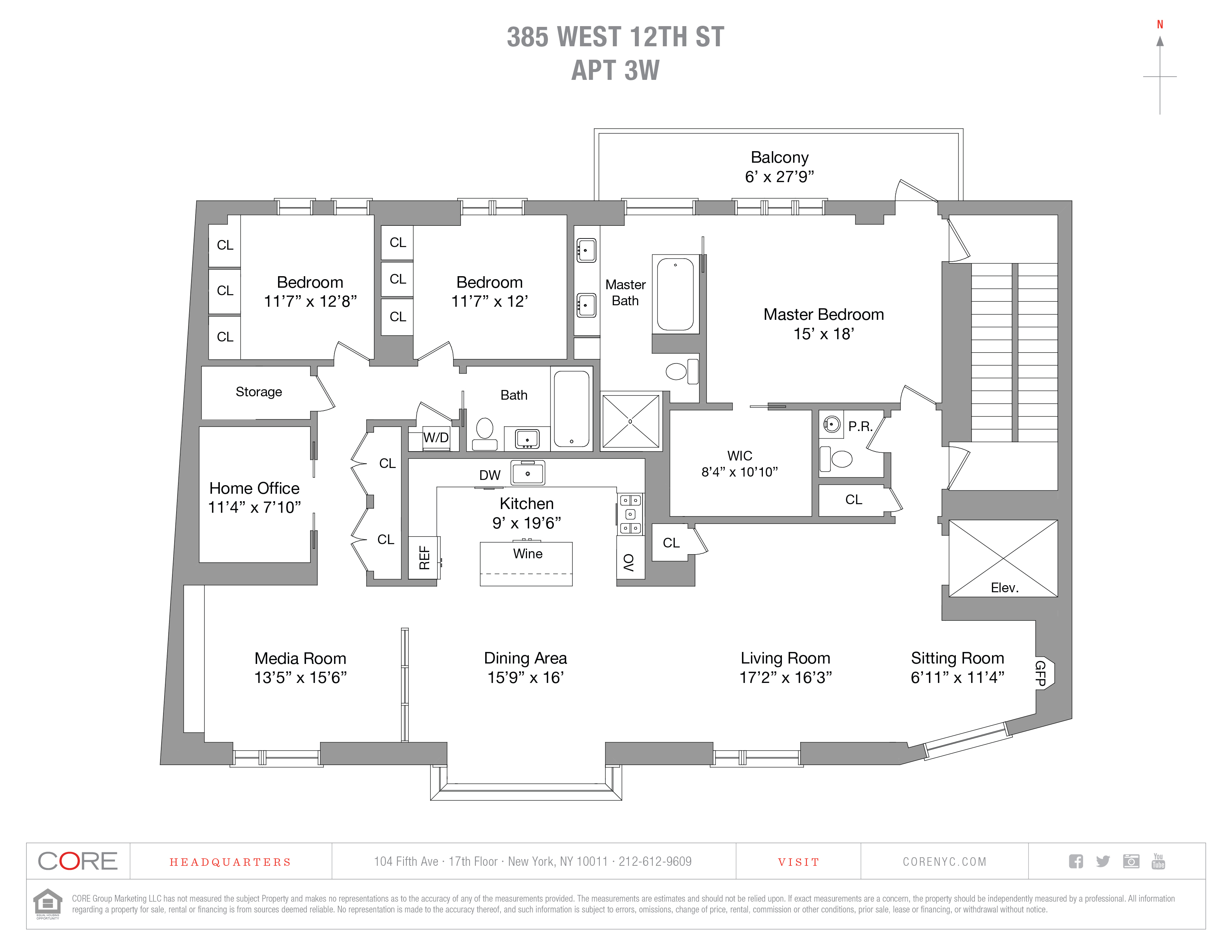 385 West 12th St. 3WEST, New York, NY 10014