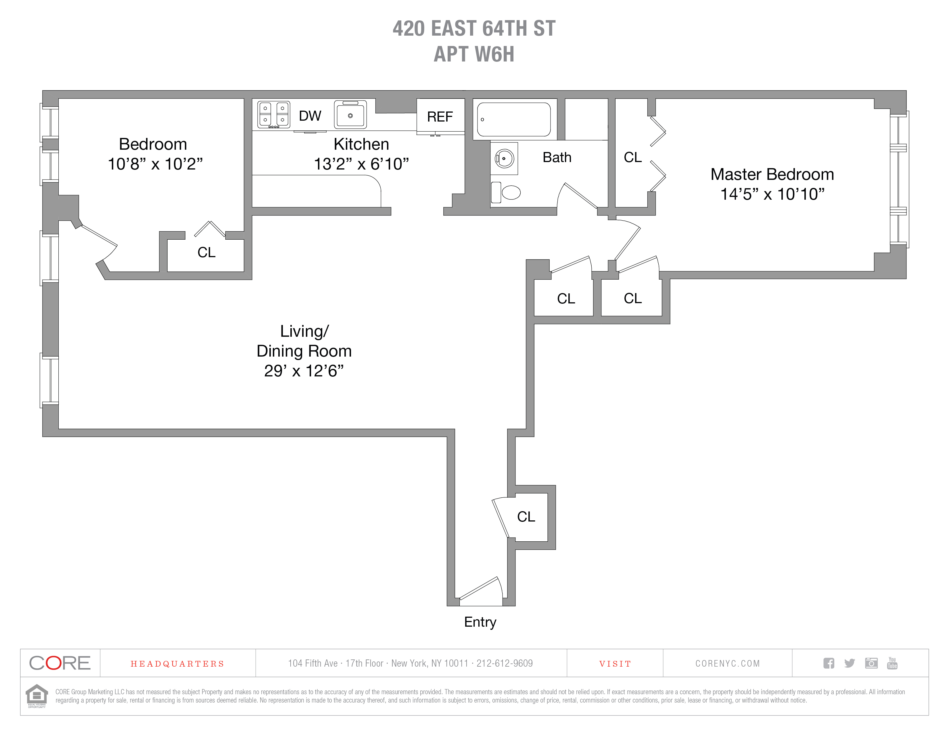 420 East 64th St. W6H, New York, NY 10065
