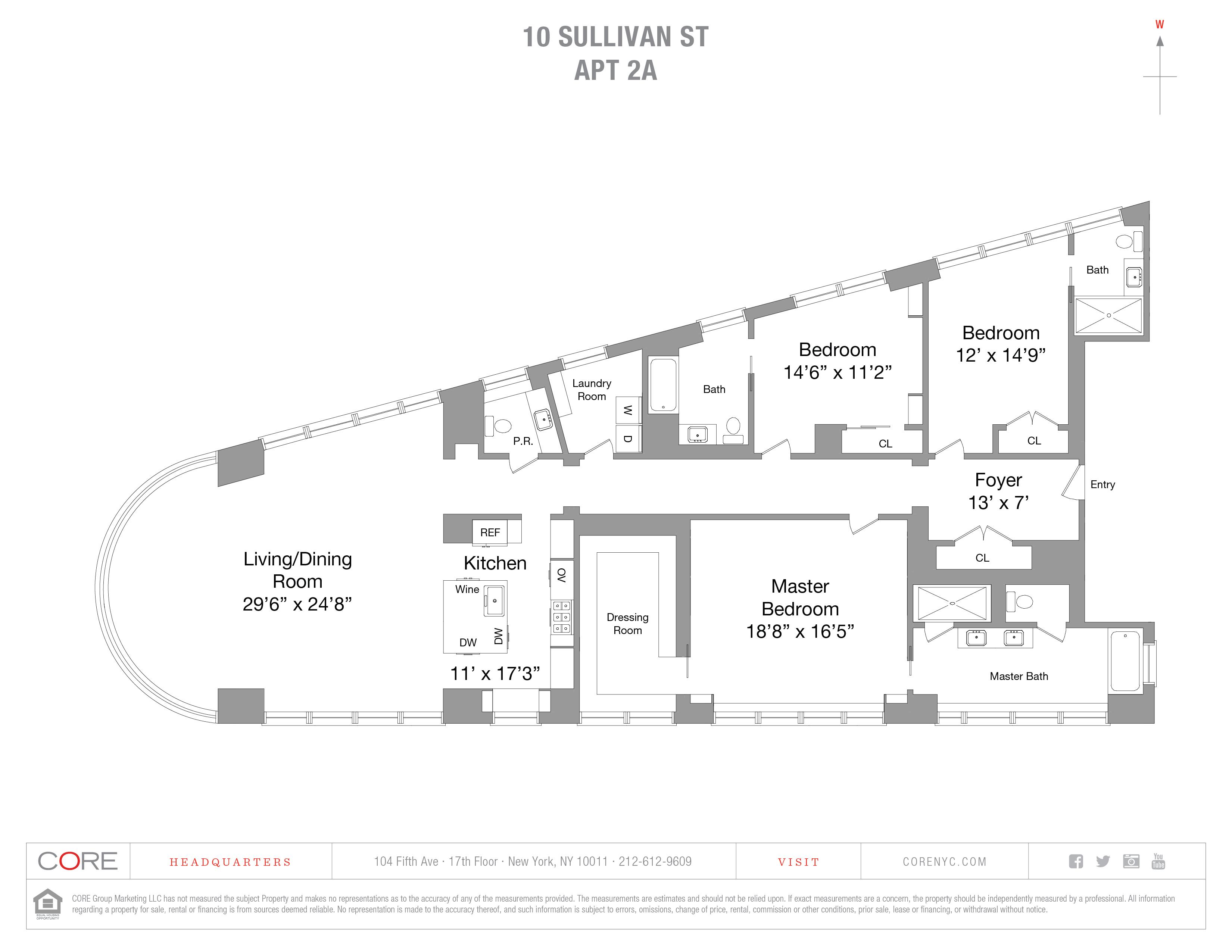 10 Sullivan St. 2A, New York, NY 10012
