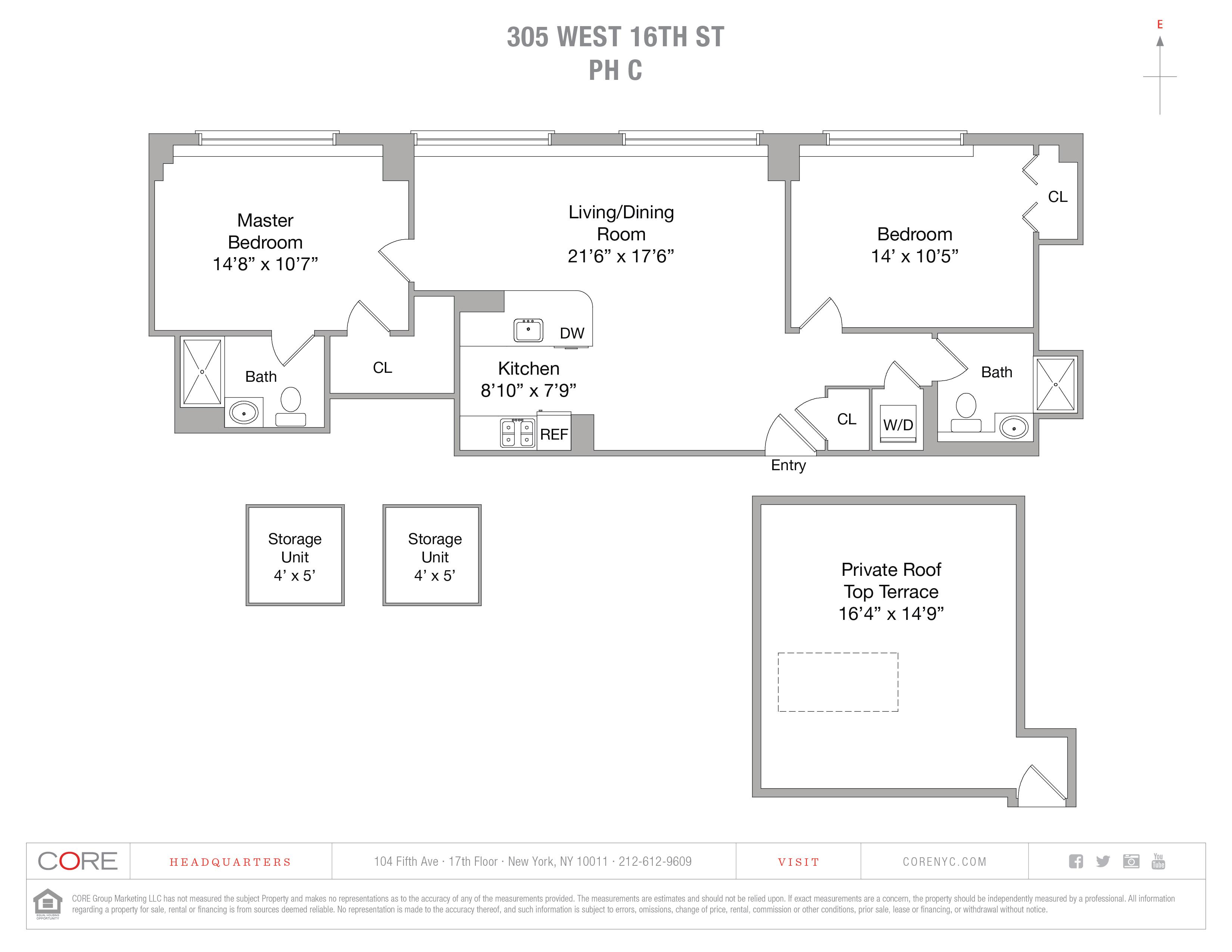 305 West 16th St. PHC, New York, NY 10011