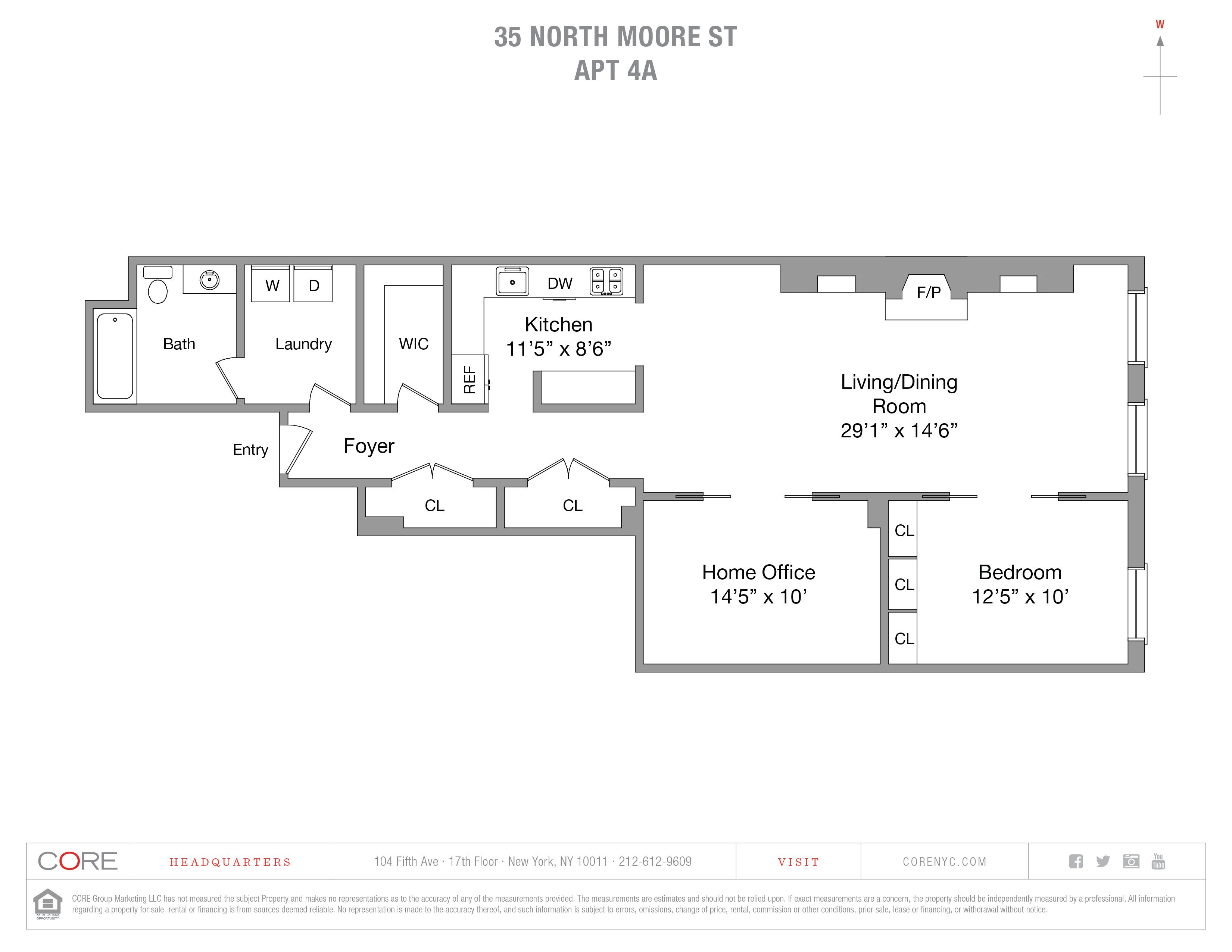 35 North Moore St. 4A, New York, NY 10013