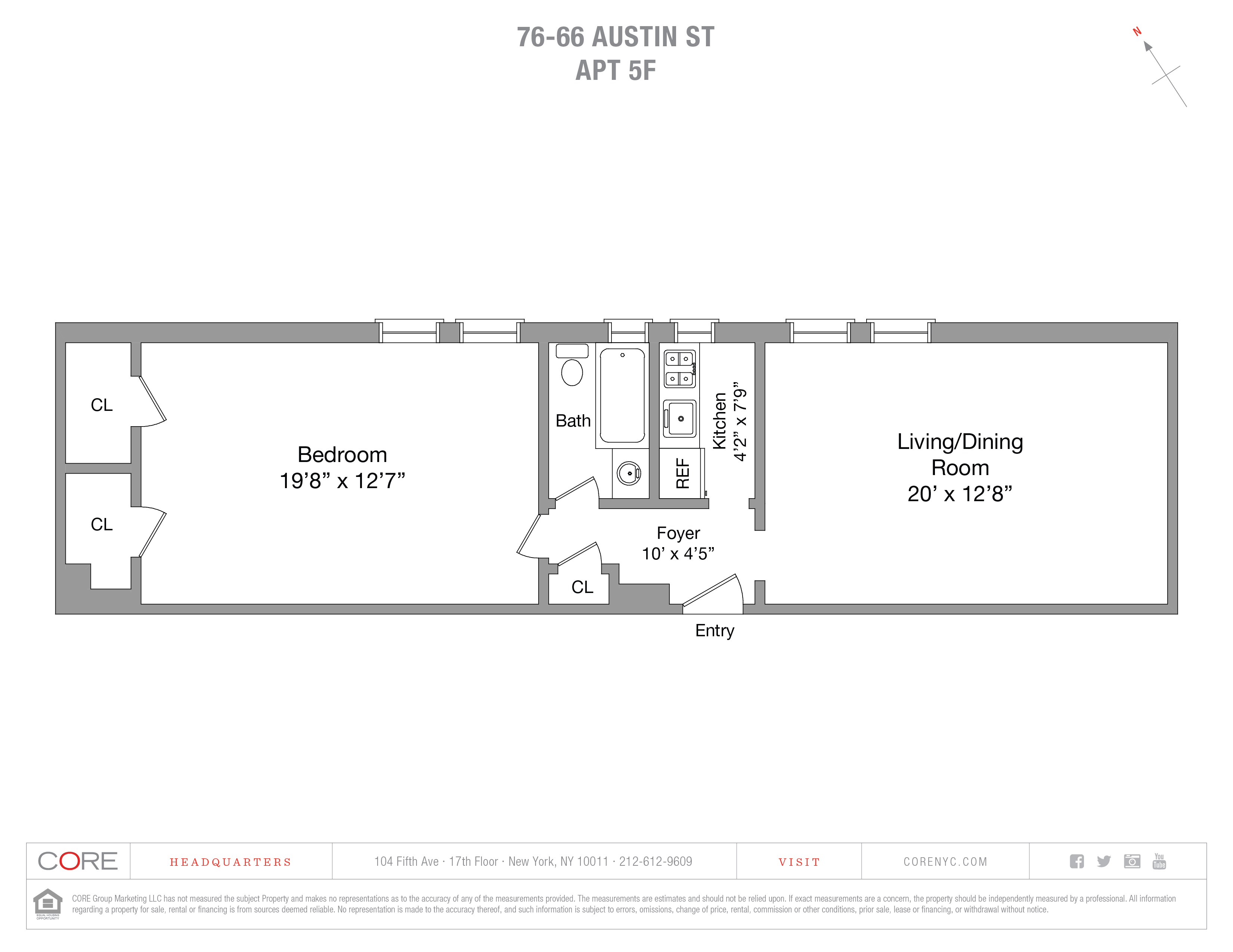 76-66 Austin St. 5F, Queens, NY 11375