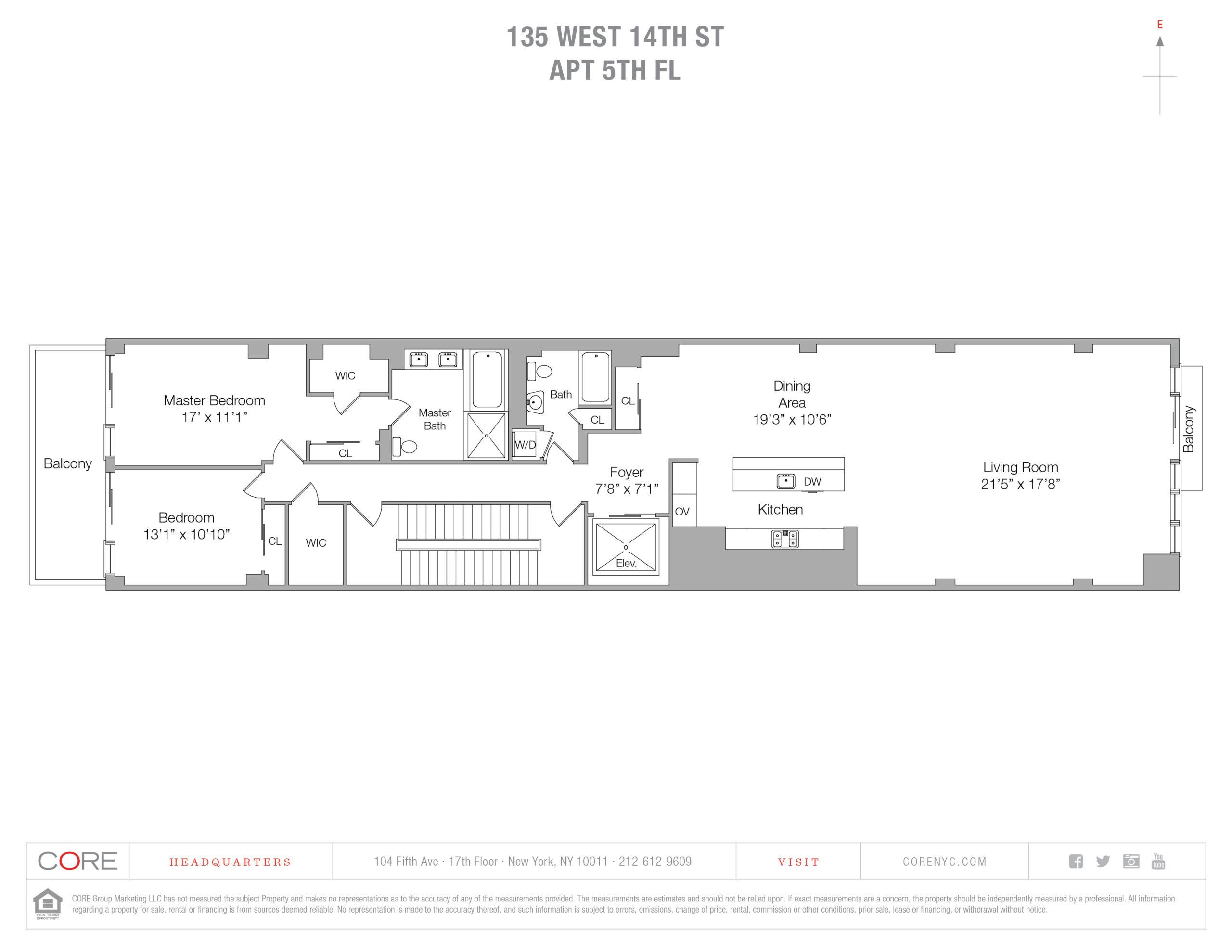 135 West 14th St. 5, New York, NY 10011