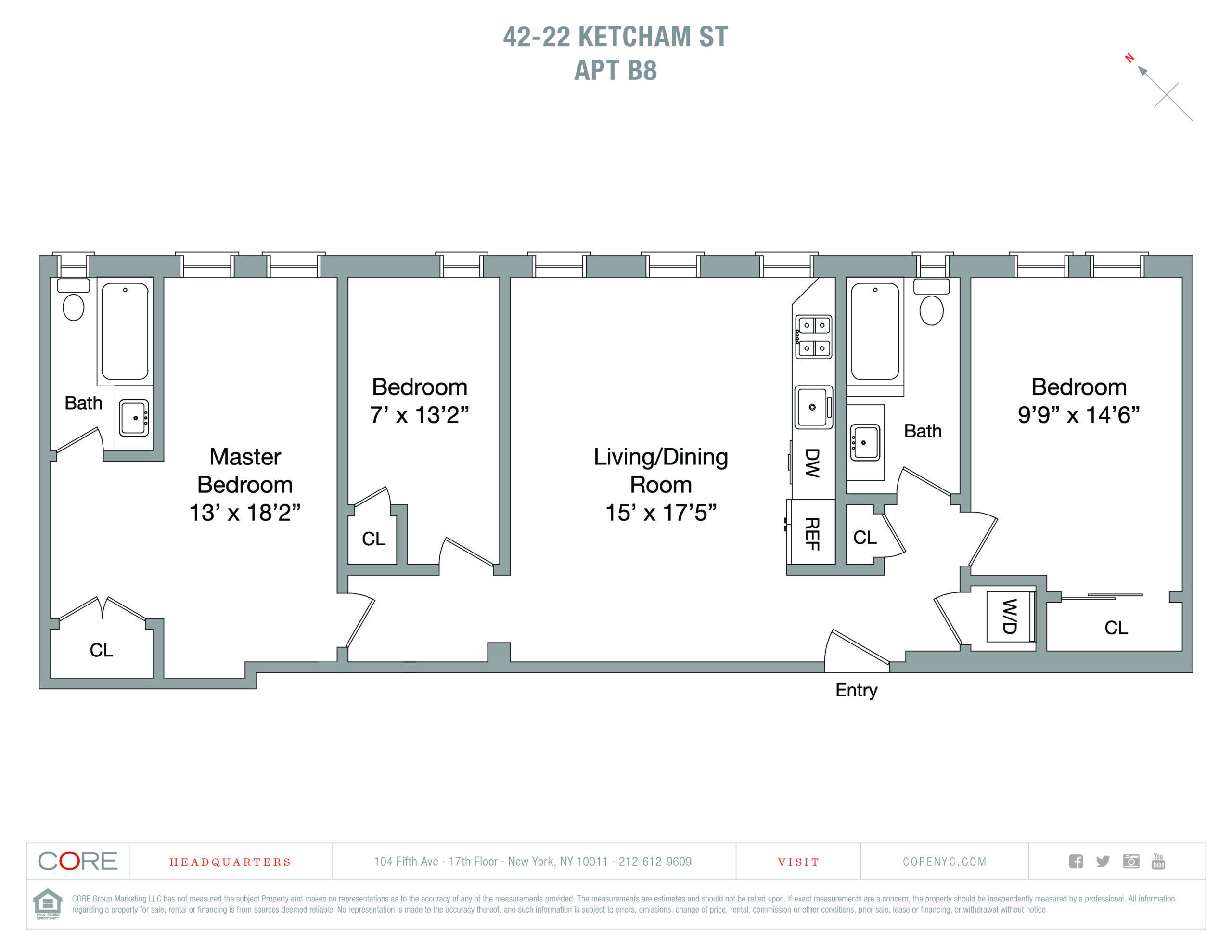42-22 Ketcham St. B8, Queens, NY 11373