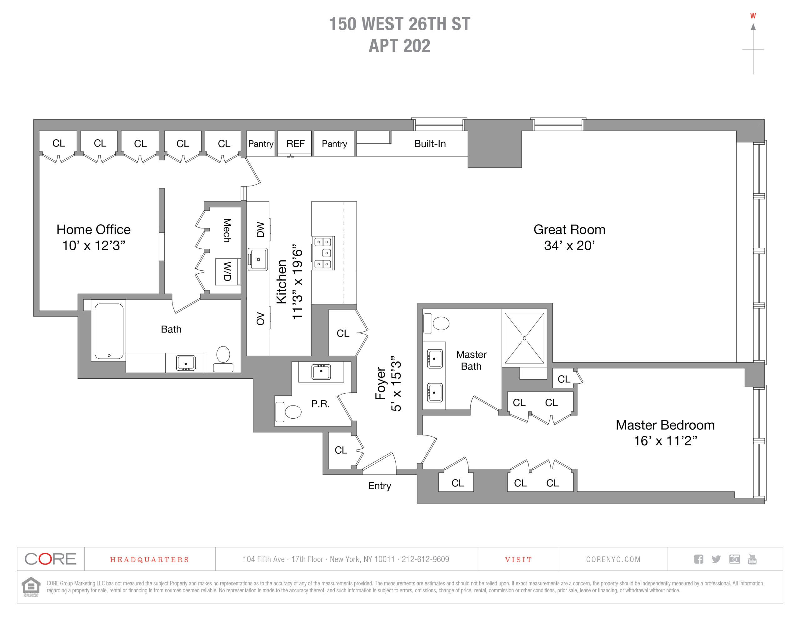 150 West 26th St. 202, New York, NY 10001