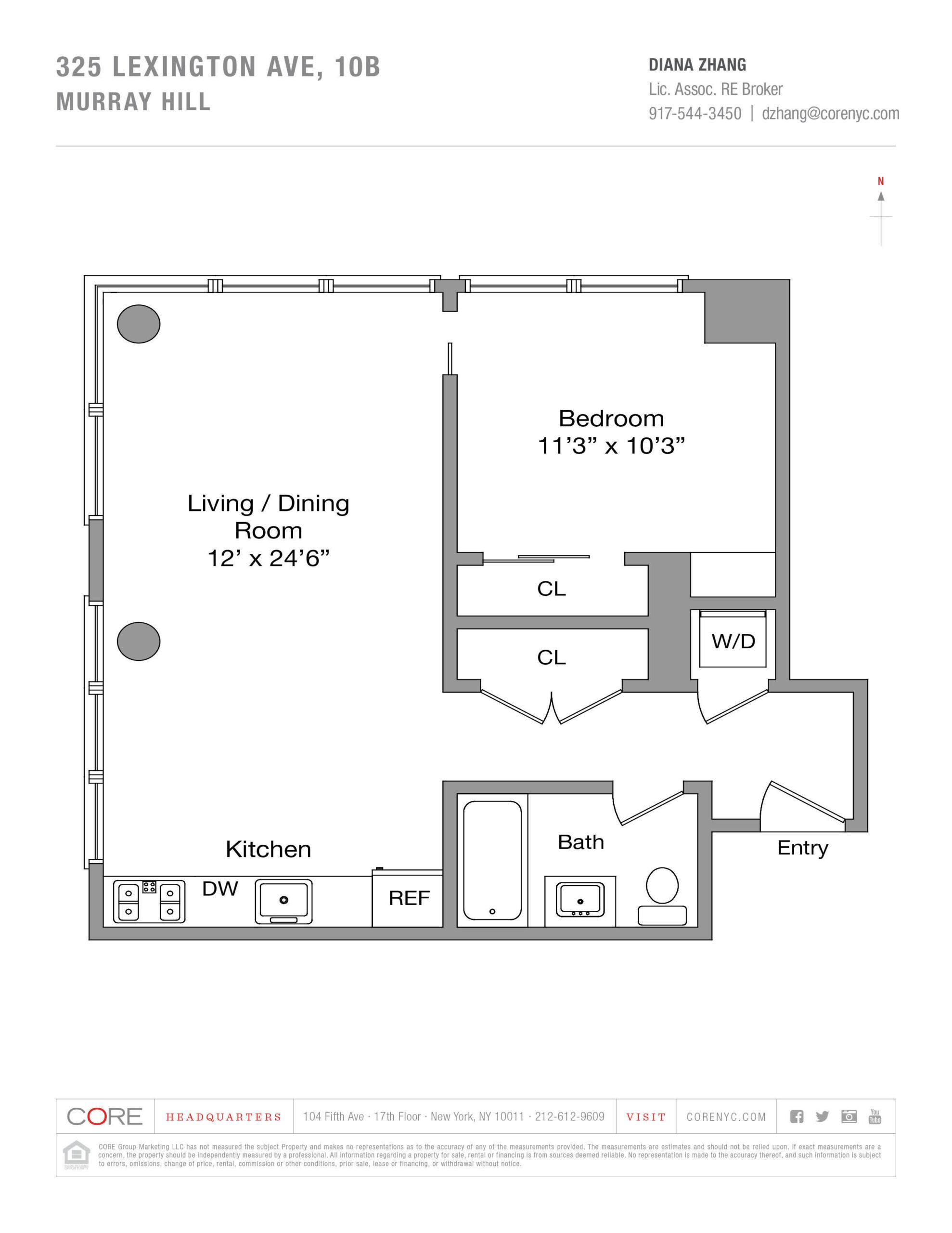 325 Lexington Ave. 10B, New York, NY 10016