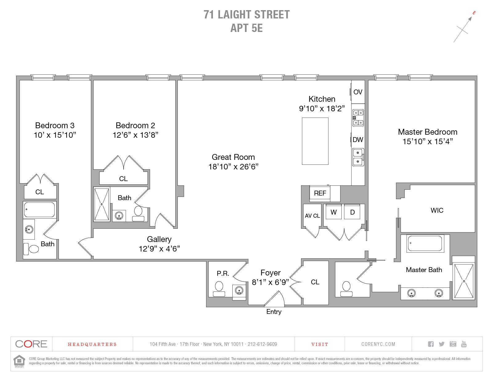 71 Laight St. 5-E, New York, NY 10013