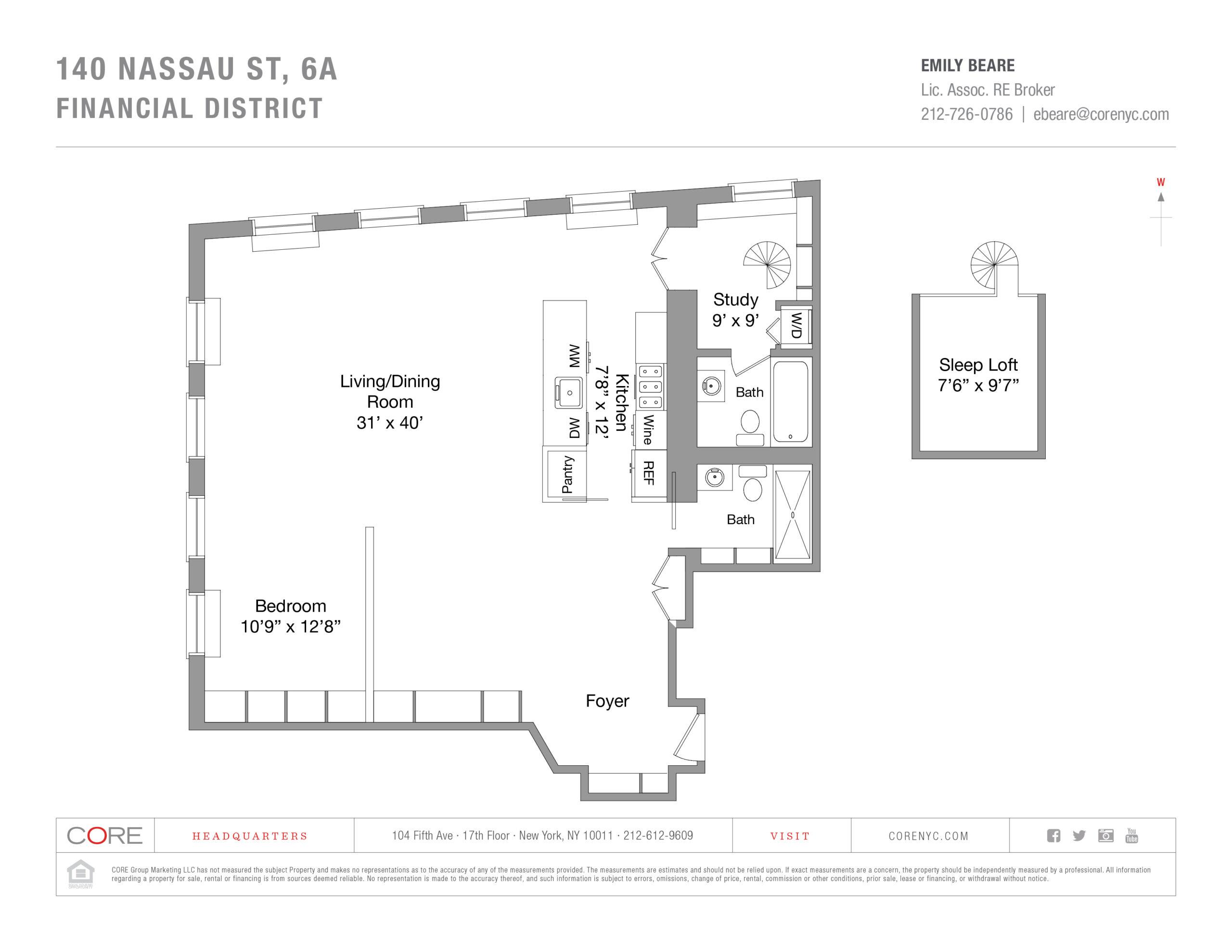 140 Nassau St. 6A, New York, NY 10038
