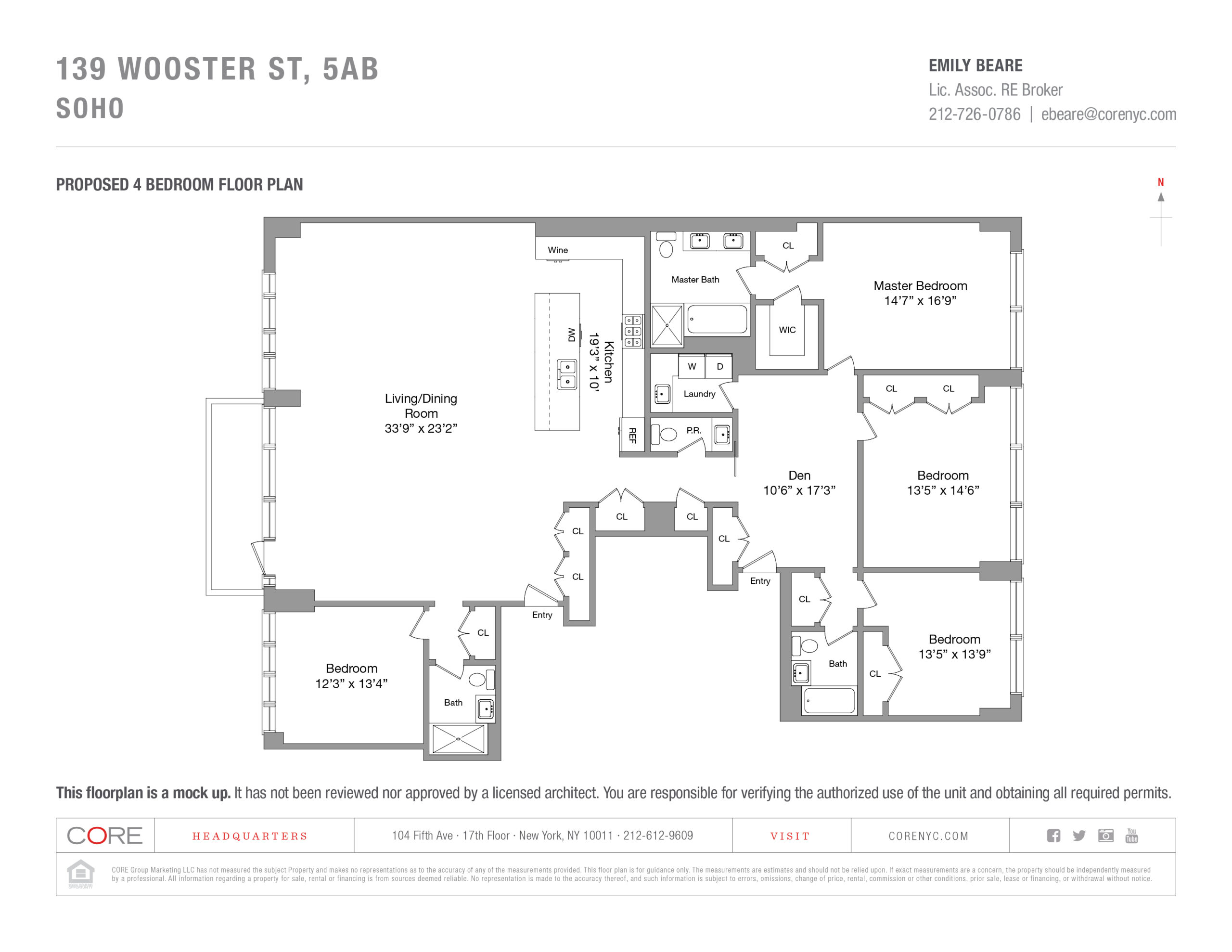 139 Wooster St. 5AB, New York, NY 10012