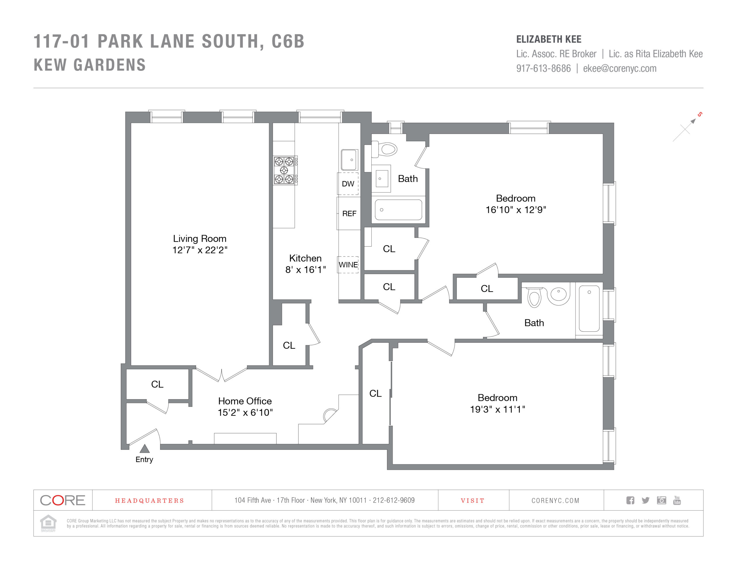 117-01 Park Lane South C6B, Queens, NY 11418