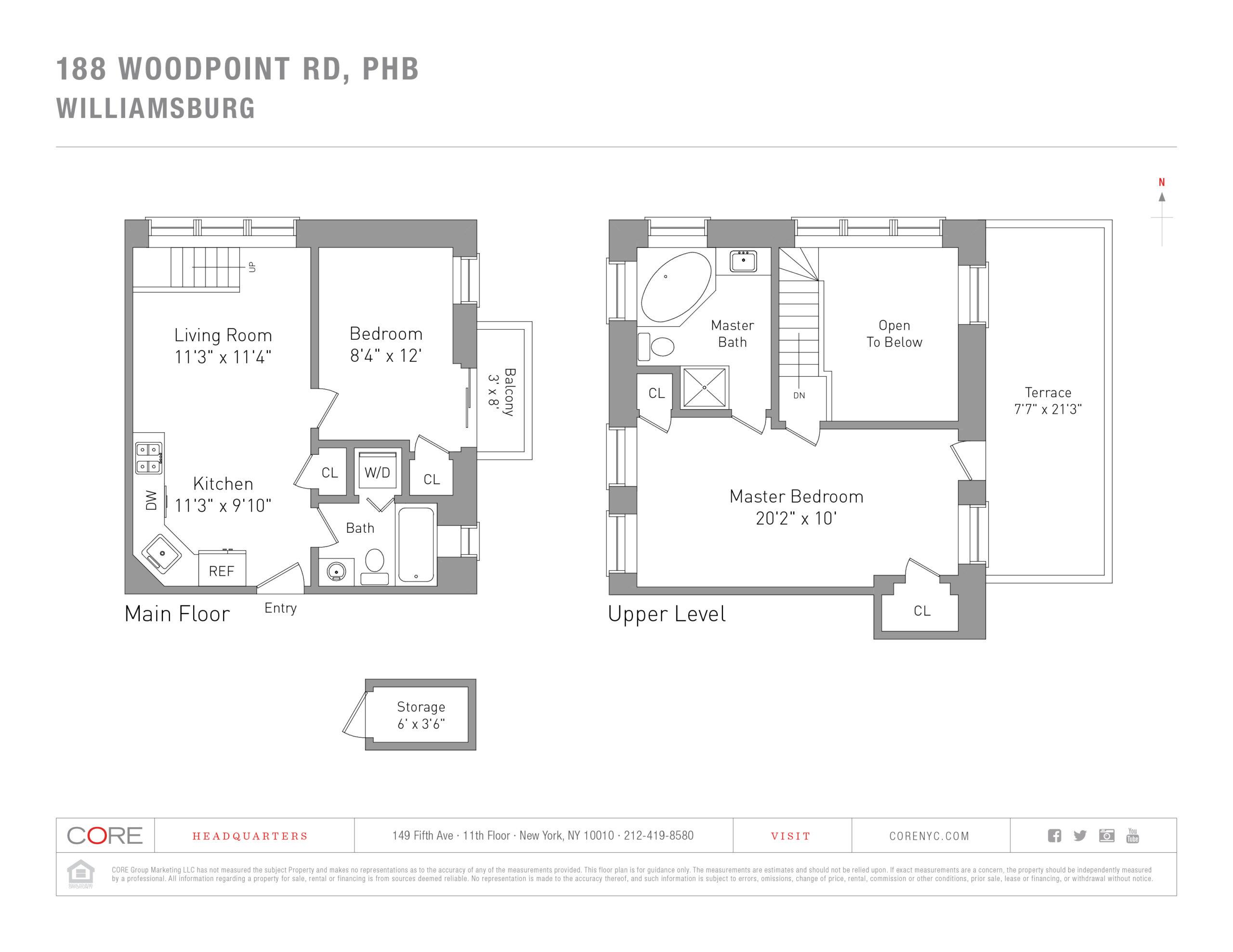 188 Woodpoint Rd. PHB, Brooklyn, NY 11211