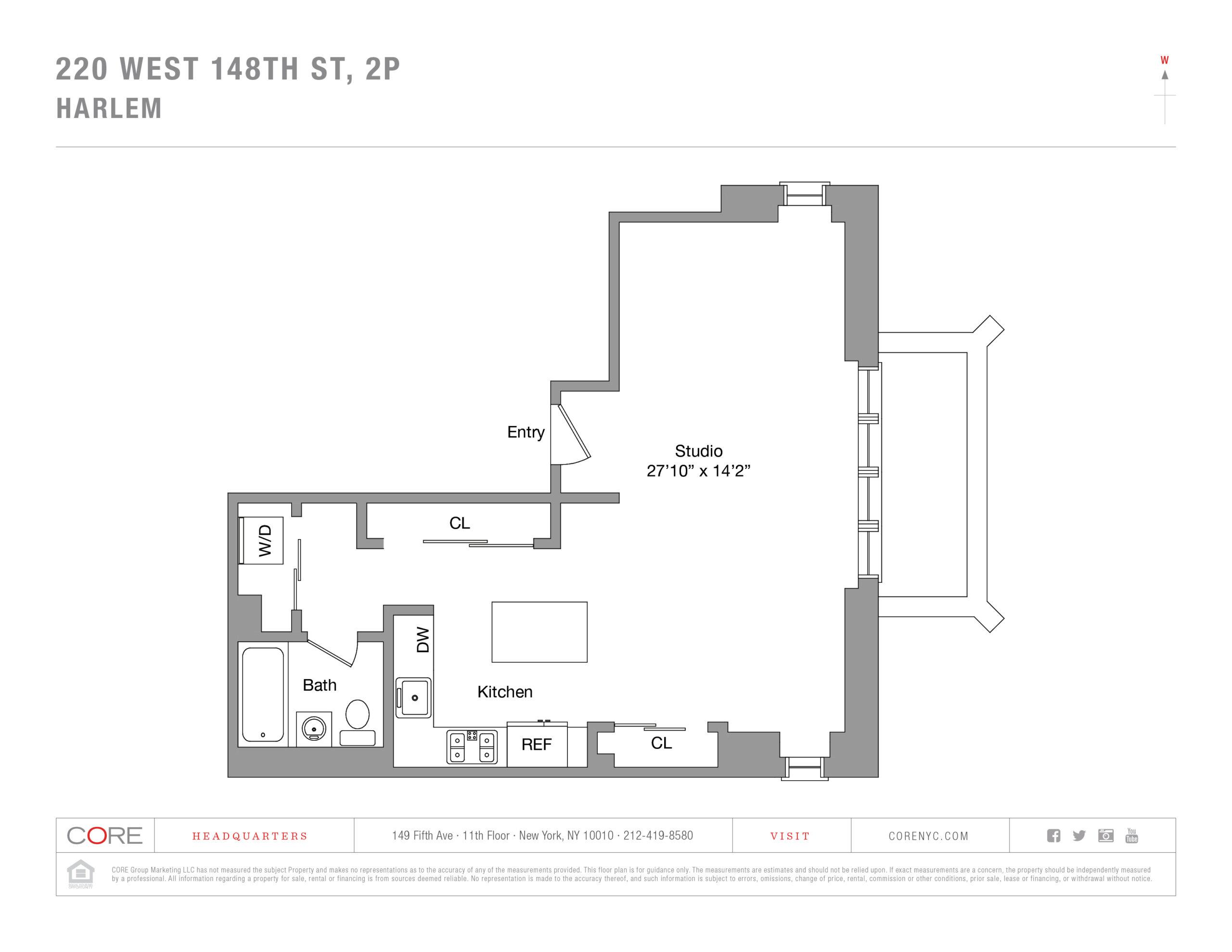 220 West 148th St. 2P, New York, NY 10039