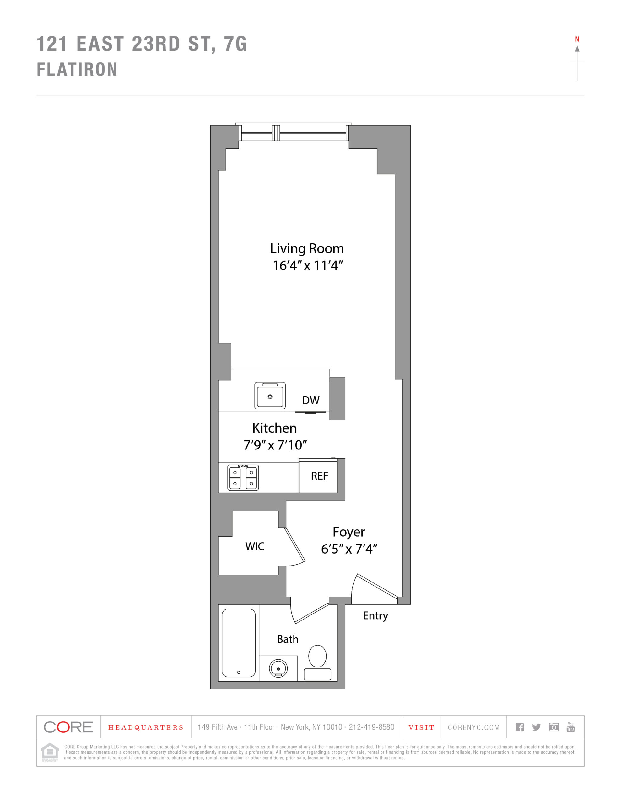 121 East 23rd St. 7G, New York, NY 10010