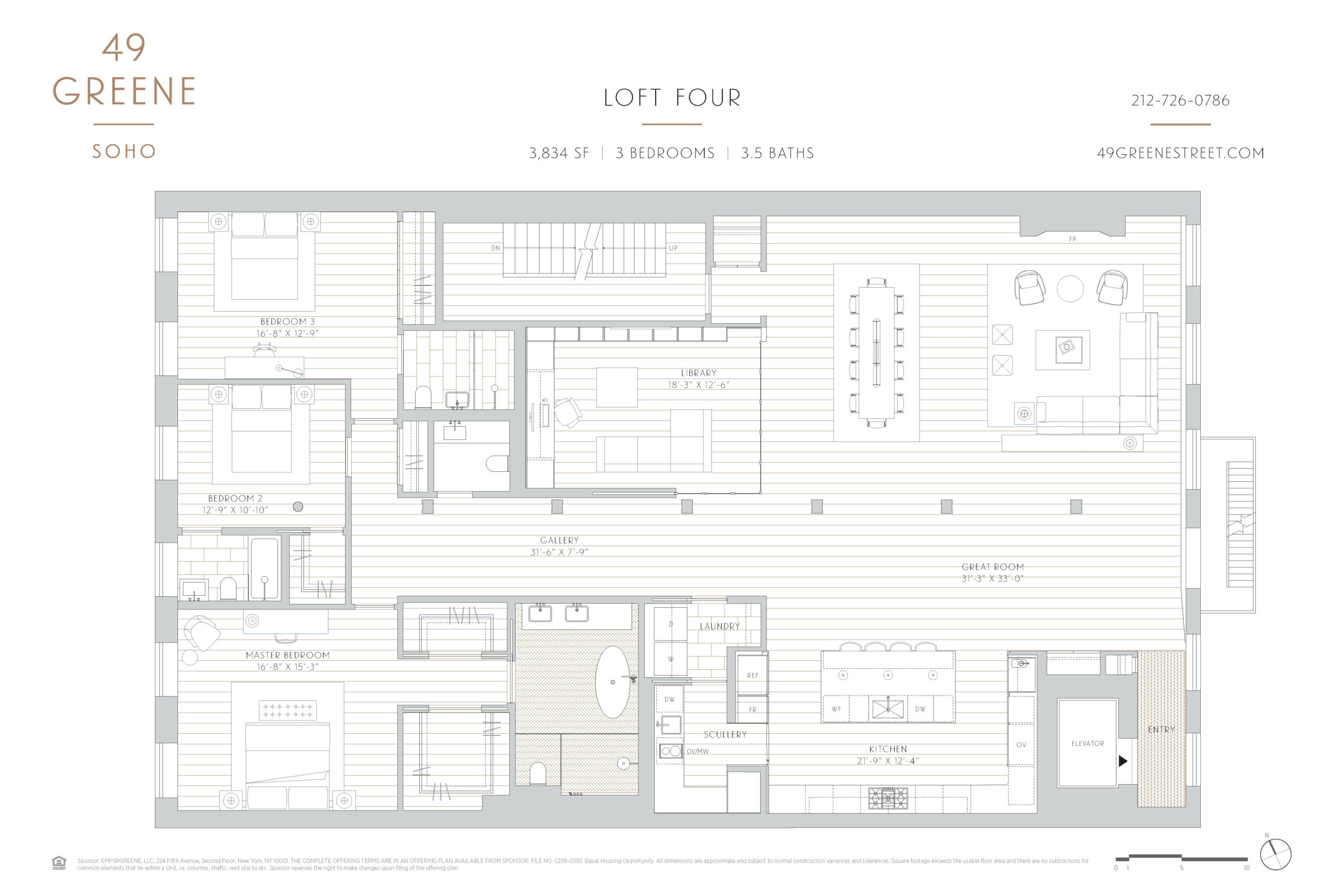 49 Greene St. Loft 4, New York, NY 10013